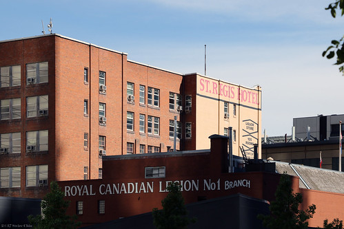 St. Regis Hotel and Royal Canadian Legion No. 1 Branch