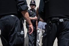 Arms of The Law (matt tompsett) Tags: british policeman police street arrest