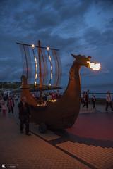 Fire breathing dragon (technodean2000) Tags: firey fire dragons breath nikon d810 lightroom uk barry island isle