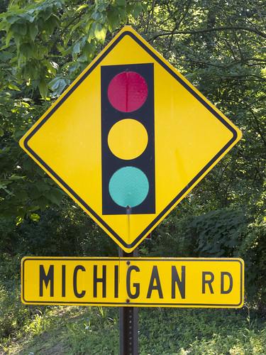 Michigan Road bicycle trip