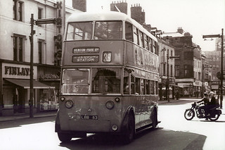 LBB 53 - Sunbeam F4 with Metro-Cammell body - Northumberland Street, Newcastle Upon Tyne