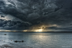 Storm Approaching (guysamsonphoto) Tags: guysamson sonyalpha6000 sonyepz1650 fleuve rivière cloud nuages fleuvesaintlaurent stlawrenceriver fabuleuse