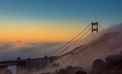 New Dawn (Juan Pablo J.) Tags: sonya68 tamron2875mm goldengatebridge sunrise fog california sanfrancisco bridge cityscape landscapes