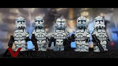 Wolfpack (AndrewVxtc) Tags: lego star wars custom wolfpack clone trooper wolffe sinker comet boost andrewvxtc