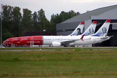 Norwegian Air International EI-FVX, OSL ENGM Gardermoen (Inger Bjørndal Foss) Tags: eifvx eifye eifyd norwegian boeing 737 osl engm gardermoen