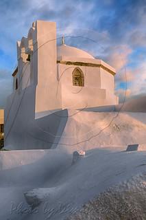 Θεοτοκάκι Πύργος Σαντορίνης Little Virgin Mary