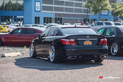 "WEKFEST 2017 NJ Ravspec WORK Zeast St 1 - Lexus LS Aimgain Widebody Kit • <a style=""font-size:0.8em;"" href=""http://www.flickr.com/photos/64399356@N08/36339600230/"" target=""_blank"">View on Flickr</a>"