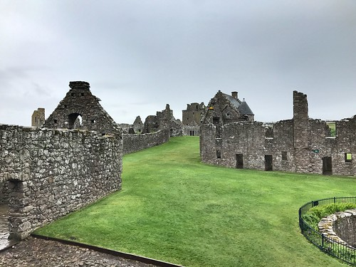 Inside Dunnotar Castle