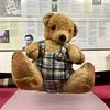 Alan Turing's Teddy Bear Porgy, Bletchley Park 2017 (Dave_Johnson) Tags: porgy bletchleypark bletchley park bucks buckinghamshire worldwartwo worldwarii worldwar2 wwii ww2 war secondworldwar code codebreakers alanturing turing teddy bear teddybear enigma