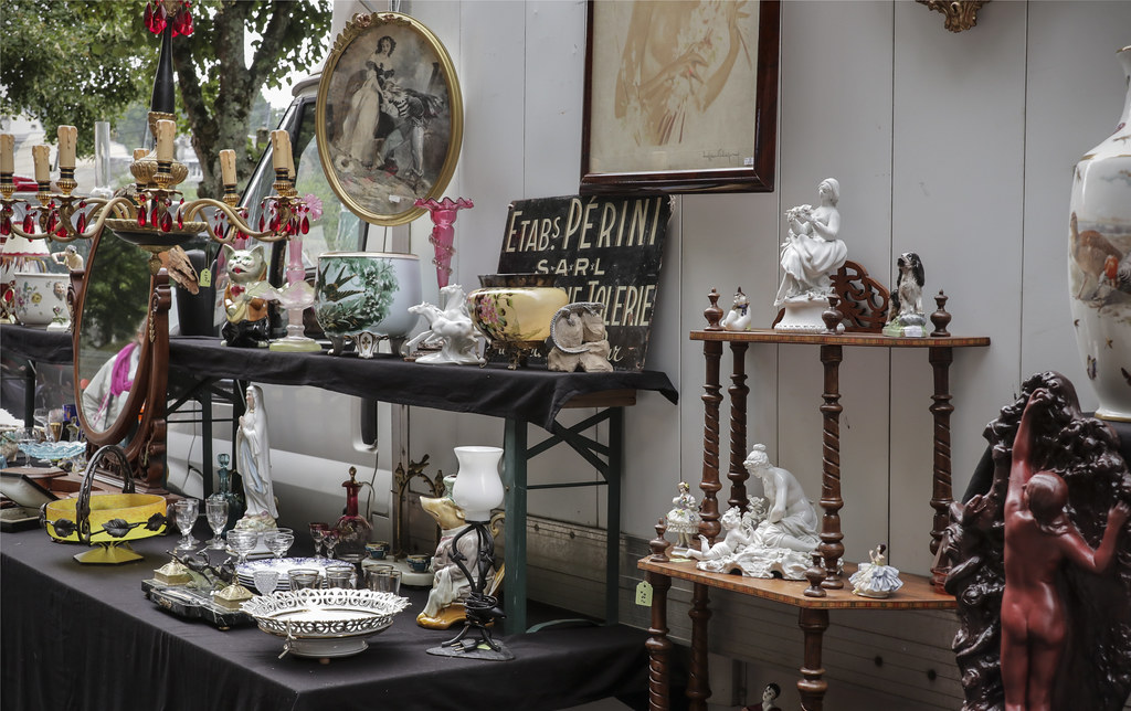 Brocante En Basse Normandie #4: Bagnoles-de-lu0027Orne Brocante Fair (Kotomi_) Tags: Antique Brocante