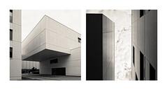 HfTL  HTWK (Bürger J) Tags: leipzig hftl htwk architecture outdoor square black white nikon d810 nikkor