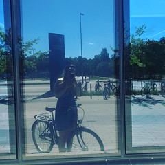Me cycling! (PackDiamant) Tags: fanny stockholmsuniversity bike cycling me