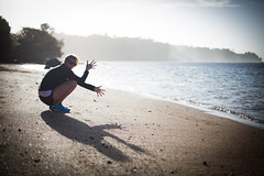 shadow play.. (paul.wienerroither) Tags: shadowplay shadow beach light backlight girl sand water sea ocean oceanlove hawaii hi kauai travel anini view beautiful dream photography canon 50mm 5dmk3 paradise