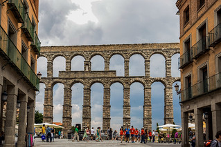 Aqueduct of Segovia / Spain