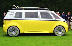 You'll Just Have to Wait ! (Steve Corey) Tags: idbuzz vw volkswagen microbus surfsup conceptcar allelectriccar futuristic iconic
