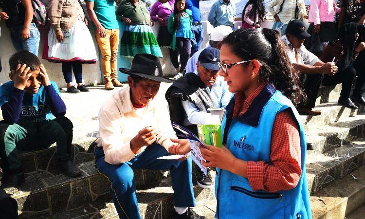 Amashca - Carhuaz: difusión de los Censos Nacionales 2017 - 6