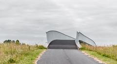 A bridge to the other side. (Alex-de-Haas) Tags: oogvoornoordholland 70200mm d750 dutch europa europe heerhugowaard nederland nederlands nikkor nikon parkvanluna stadvandezon bewolkt bridge brug lente lucht overcast sky spring
