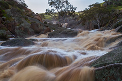 Coffee anyone? (Trace Connolly) Tags: water waterfalls falls coffee mannum mannumfalls southaustralia australia hiking nature natural natura rapids river stream reedycreek tree rock scenery canon canon7d digital eos outdoors sunset dusk