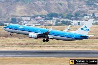 Boeing B737 KLM PH-BXL