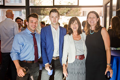 Seth Patton, Matt Morse, Kathie Lembo (South Bay Community Services), Maddy Kilkenny