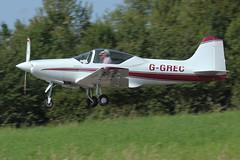 Sequoia F.8L Falco   G-GREC (Old Buck Shots) Tags: egsv dm
