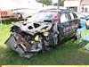 Totaled Outlander (TheTransitCamera) Tags: mitsubishi car automobile suv crossover totaled accident display minnesota mnstatefair2017 mnstatefair fairgrounds