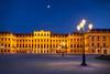 Blue hour at Schönbrunn