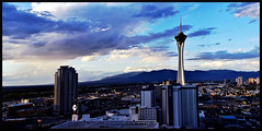 TooEarly (VegasBnR) Tags: nikon nevada sigma stratosphere strip city vegas vegasbnr panorama pano paradise sls building clouds weather strat