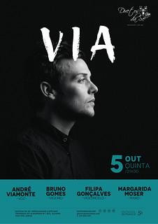 CONCERTO - Duetos da Sé - Alfama Lisboa - QUINTA-FEIRA 5 OUTUBRO 2017 - 21h30 - VIA - André Viamonte