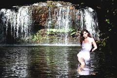 Merisiel (SkyzzoTattoo) Tags: merisielirum beauty beautifulgirl waterfall water transparence boh skyzzo brunette sexy sexygirl