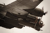 "B-17 Flying Fotress ""SallyB"" 3 (Ty's Togs) Tags: b17 flying fotress underside topside sallyb banking prop blur bomb bay boeing air show ww2 usaf"