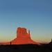 Navajo - Monument Valley at Dusk