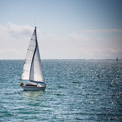 Boat (Zeeyolq Photography) Tags: france sky boat larochelle sailing sea aquitainelimousinpoitoucharen aquitainelimousinpoitoucharentes fr