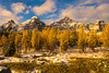 DSC08202 (www.mikereidphotography.com) Tags: larches fallcolors autumn canada canadianrockies lakemoraine larchvalley sentinelpass 85mm otus zeiss mirrorless a7r2 landscape golden
