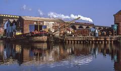 6201 At Frodsham. 12/04/2003 (briandean2) Tags: 6201 frodsham steam railways uksteam ukrailways riverweaver hanksverymuchron gladthatyoulikeit