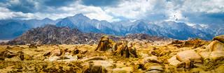 The High Sierra - Textured