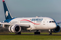 Boeing 787-8 Aeromexico N964AM cn 35307/122 (Guillaume Besnard Aviation Photography) Tags: eham ams amsterdamschiphol schipholairport canoneos canonef500f4lisusm canoneos1dsmarkiii boeing7878 aeromexico n964am cn35307122 aeroméxico boeing787
