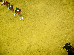 Bullfighting in Nazaré (Alberto Pérez Puyal) Tags: bullfighting portugal nazare bull torero horse sand ring plaza touro touros alberto perez puyal 2017