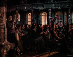 2017-09-15-SPb, Blind Orrchestra, Birnt chirch -261 (Mandir Prem) Tags: places stpetersburg abandoned art artist blind chirch city concert gothic music orchestra riuined romantic ruins russia trip