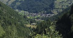Les Haudères (bulbocode909) Tags: valais suisse leshaudères arolla valdhérens villages montagnes nature forêts arbres vert maisons chalets églises