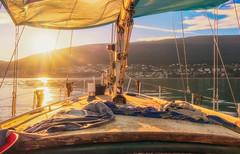 ...BackToPort... (7H3M4R713N) Tags: fujifilm xt2 sail voilier boat bateau suisse switzerland swiss sunset sun sky water lake lakeofneuchatel neuchâtel romandie imfuji imfujifilm zen light outdoor nature boattime goldenhour