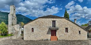 Ιερός Ενοριακός Ναός  Κοιμήσεως της Θεοτόκου στη νήσο των Ιωαννίνων Holy Parish Church  Assumption of Virgin Mary  island of Ioannina