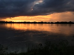 Sunset over Mekong 2017-8-8 16 (SierraSunrise) Tags: clouds mekong mekongriver nongkhai phonphisai reflections rivers skies sky storm sunset sunsets thailand water