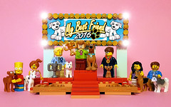 LEGO DOG SHOW 2016 :) (COLLECTOR FIGURES) Tags: lego dog show scooby doo scoobydoo sammy shaggy dogshow winner best friend legoscoobydoo