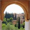 Edged / Eingefasst (Teresa (be there...)) Tags: granada andalusia spain alhambra architecture landscape edged zypressen architektur landschaft bauwerke unesco maurisch spanien andalusien