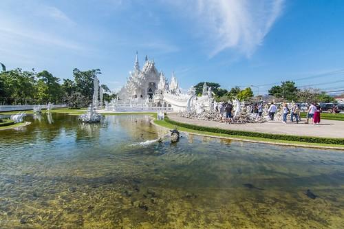 Temple blanc - Chiang Rai