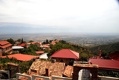 Sighnaghi - magnificent views over the Alazani valley (Jelger Groeneveld) Tags: georgia tusheti omalo dartlo kakheti roadtrip caucasus