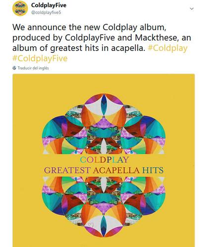 Coldplay fan photo