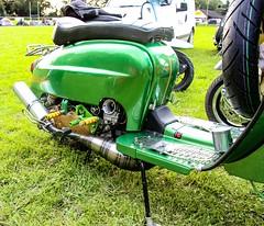Custom Lambretta (thebillster) Tags: swaffham harlequinssc shindig6 scooterrally scooter customlambretta lambretta