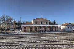 IMG_2017_01_08_1776 (gravalosantonio) Tags: jaca huesca spain españa ferrocarril tren vias